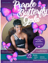 Inaugural Purple Butterfly Gala